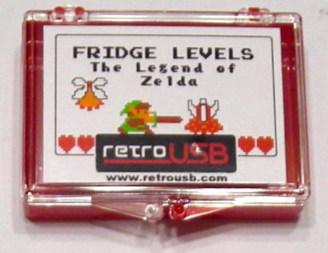 Fridge Levels - Zelda